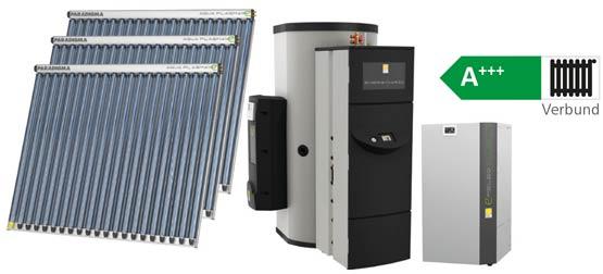 Heizung Förderbeispiel BAFA mit Solar