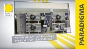 Herstellung von Solarkollektoren