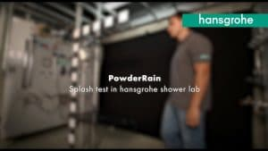 hansgrohe PowderRain Spritz Test